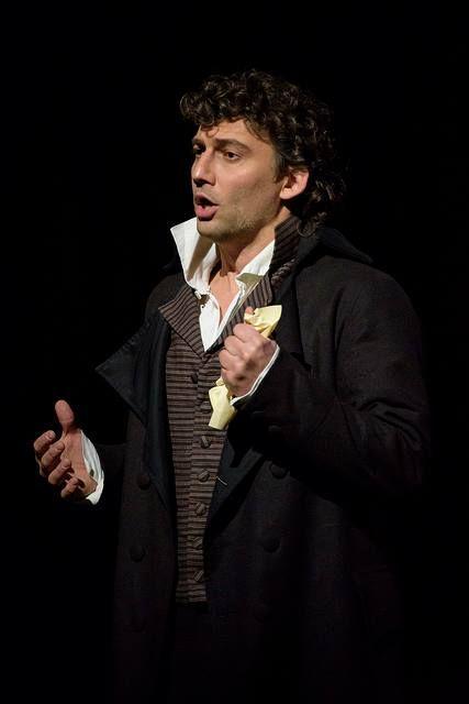 Jonas Kaufmann in the titular role of Andrea Chénier. Royal Opera House, 2015. (Photo: Bill Cooper).