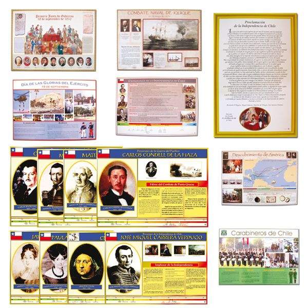 Set Efemérides -> http://www.masterwise.cl/productos/12-historia-y-geografia/42-set-efemerides