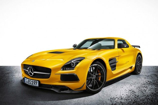 I'm guessing yellow is the new red. Donations are now being accepted. | Mercedes-Benz SLS AMG Black Series