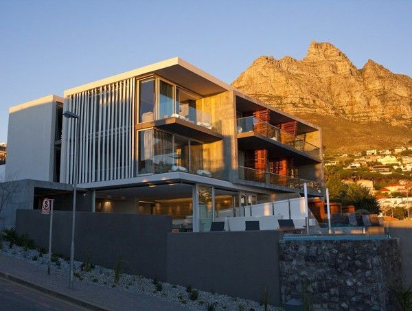 Exterior Design From Luxury Boutique Hotel Ideas In Cape Town South Africa 600x453