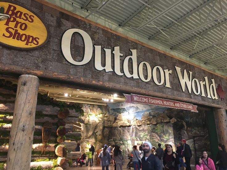 Bass Pro Shops Outdoor World  For more information, including store list, and additional photos of Tsawwassen Mills, go to: http://urbanyvr.com/tsawwassen-mills-store-list-photos