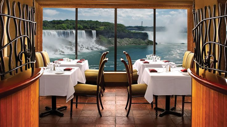 The Rainbow Roommassimo Capra Restaurant In Niagara Falls Stunning Skylon Revolving Dining Room Inspiration
