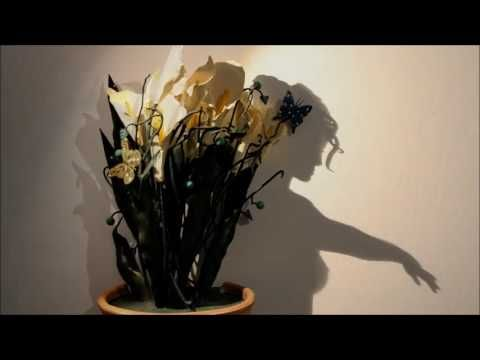 Shadow art by Teodosio Sectio Aurea