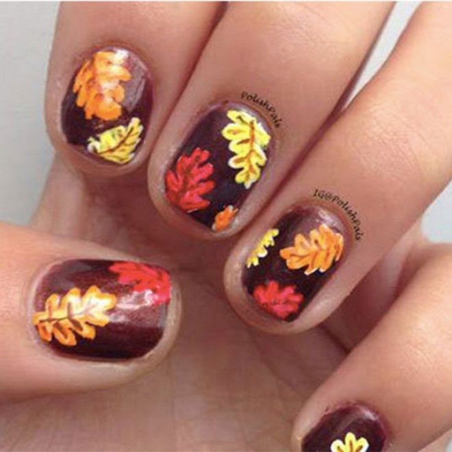 autumn nails manicure ideas