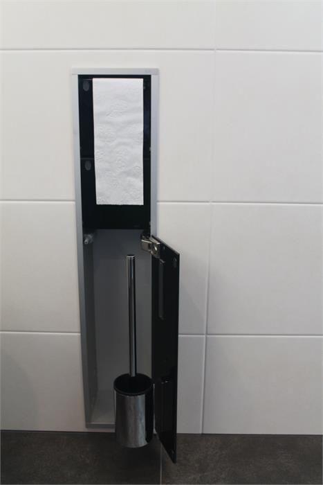 Silvolde Badkamer Toiletborstel opbergsysteem