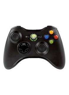 Microsoft Xbox 360 Official Wireless Controller - Black on Special FeaturesHigh-performance wireless gaming now comes in black! Using optimized technology the black Xbox 360 Wireless Controller lets you enjoy a 30-foot range and up to 40 hours of life on the  http://www.MightGet.com/february-2017-1/microsoft-xbox-360-official-wireless-controller--black-on.asp