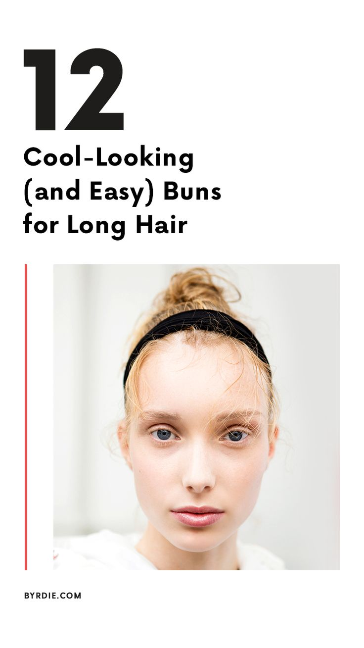 The best buns for long hair