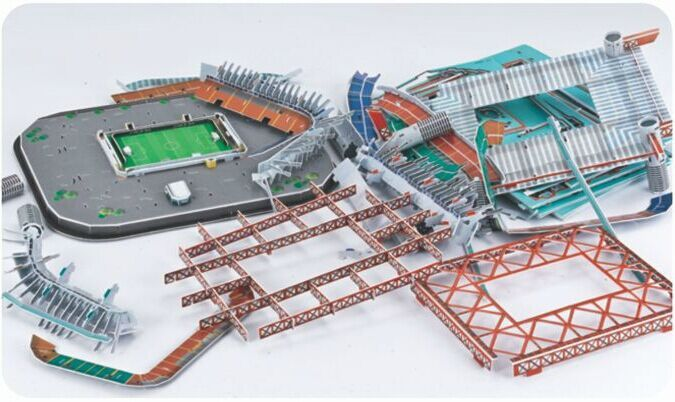 Puzzle stade de foot Guisepe Mearazza