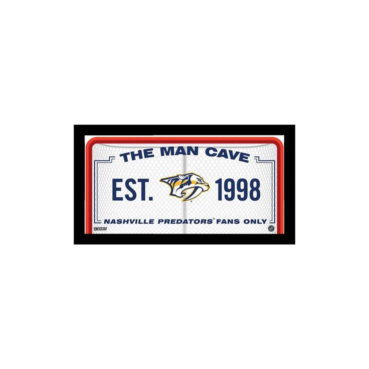 SS 10x20 Man Cave Signs Nashville Predators