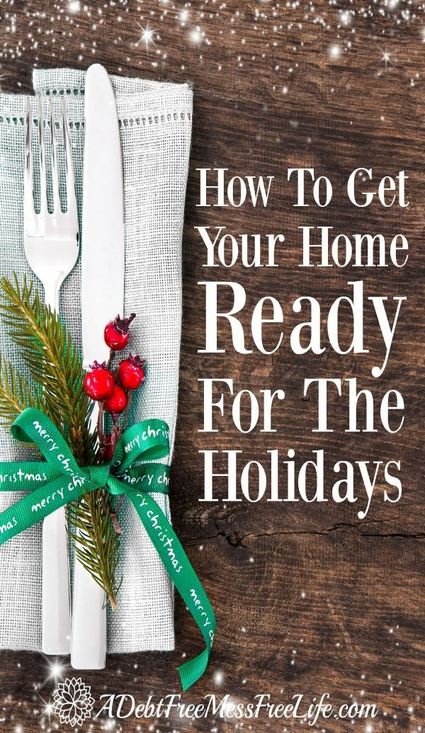 The deep clean checklist of what should be done before you pop that turkey in the oven or put up that Christmas Tree! Start your cleaning  now before the guests show up!
