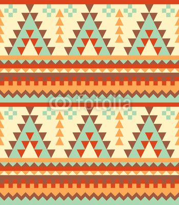 "Seamless aztec pattern"" Stock image and royalty-free vector files ..."