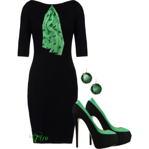 Office couture - green