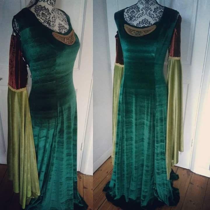 Variation Arwen dress -  https://www.etsy.com/uk/listing/265090511/arwen-inspired-elven-blood-red-dress?ref=shop_home_active_13