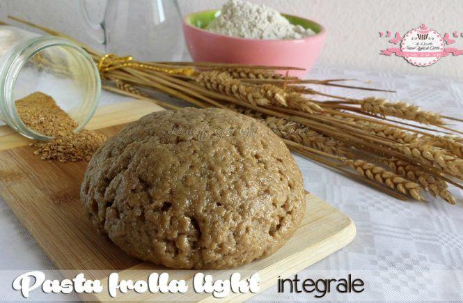 Pasta frolla light integrale