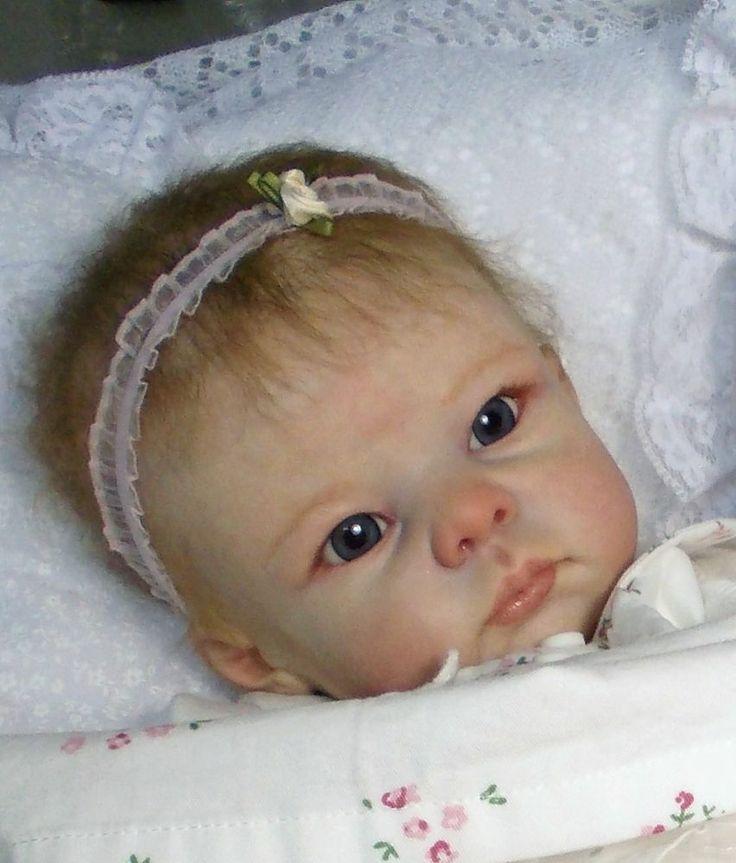 Reborn Doll Fake Baby Bethany Linda Murray Peek A Boo