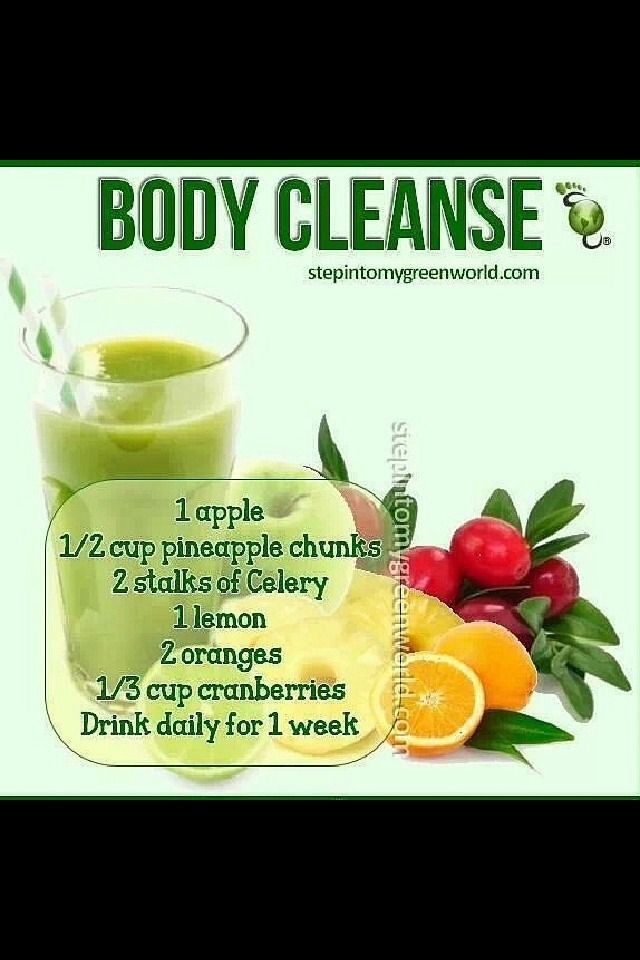 Body Cleanse Drink