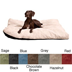 @Overstock.com - Spoil your furry friend with this extra large dog bed. Your dog will love snuggling up on this memory foam bed. It has a body temperature-activated feature to warm and sooth aching joints. Choose from black, blue, brown, grey, tan, red, or green.http://www.overstock.com/Pet-Supplies/Stuffy-Fluffy-Extra-Large-Memory-Foam-Dog-Bed/6304738/product.html?CID=214117 $79.99