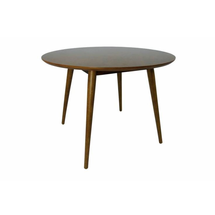 Table à manger ronde en bois design scandinave – LENA NOYER