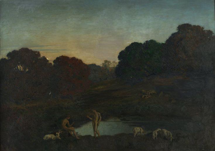 Réne Ménard - Pastoral Scene (1911)
