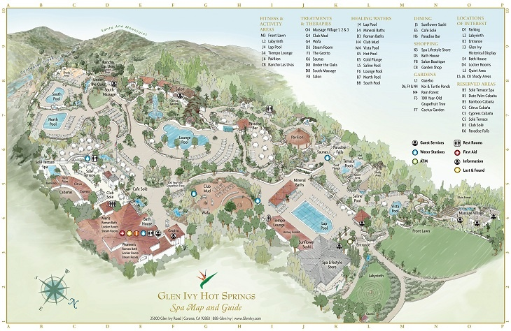 Glen Ivy Hot Springs Spa and Day Spa, Corona, California - If I ever win the LOTTO, I'm buying a season pass!