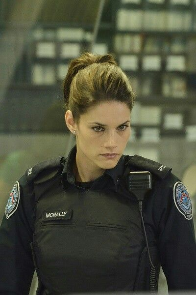 """Missy Peregrym as Officer Andy McNally in """"Rookie Blue"""""""