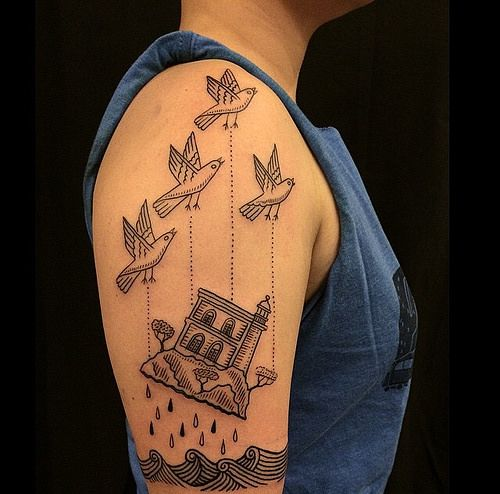 Best 25 river tattoo ideas on pinterest compass drawing for East river tattoo price