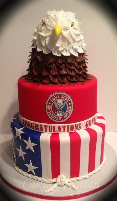 Cake Decorating Honor Pathfinders : 57 best Eagle cake images on Pinterest Eagle scout cake ...
