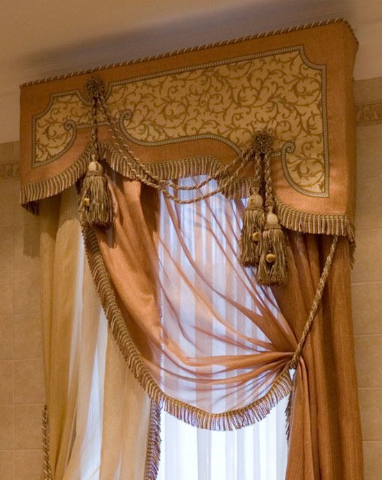 How do Bando for curtains with his hands: photo, video instruction; LOTS OF GORGEOUS WINDOW TREATMENTS INSIDE.