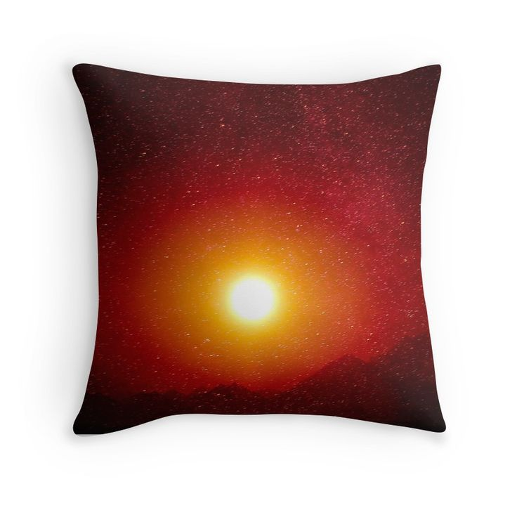 Nightsky In Africa #pillow #unique #mysterious #exciting #homedecor