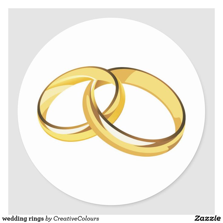 Свадебные кольца картинка на торт