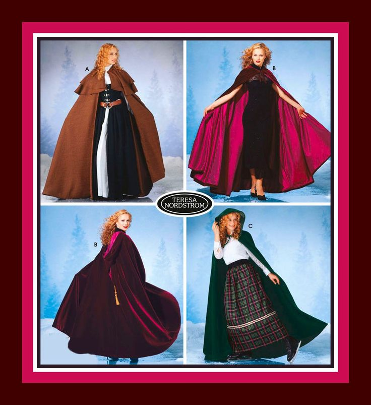 The 417 best Costume Sewing Patterns images on Pinterest   Factory ...