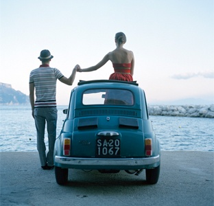 Rodney SmithEngagement Photos, Vintage Cars, Rodney Smith, Roads Trips, Old Cars, Fiat 500, Photography, Fiat500, Holding Hands