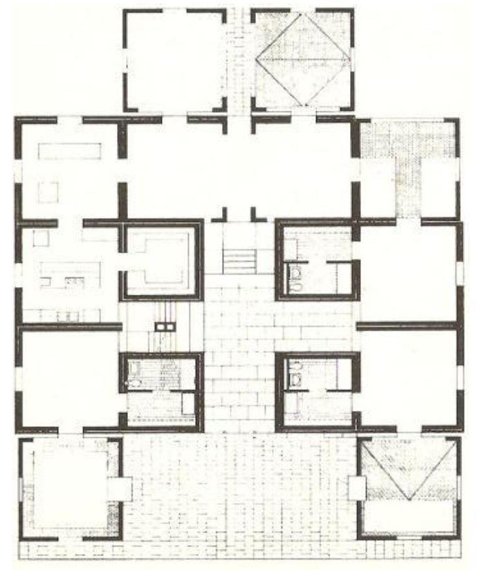 Vintage Louis Kahn Fleisher House