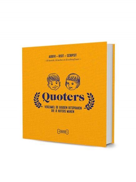 Stratier Quoters boekje - EenMannenKado
