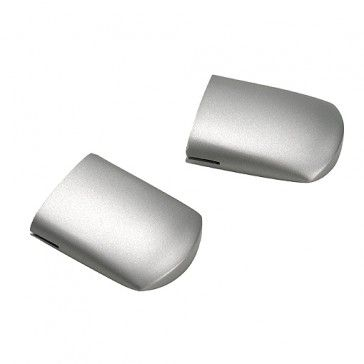Endkappen für LINUX LIGHT, 2 Stk., silbergrau / LED24-LED Shop