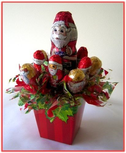 """SANTA'S CHOCOLATE TREATS"" Candy Bouquet"