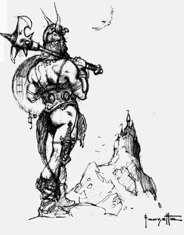 Cap'n's Comics: Frank Frazetta Puts The Mercy In Mercenary