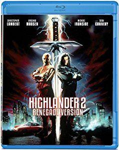 Amazon.com: Highlander 2: Renegade Version [Blu-ray]: Sean Connery, Christopher Lambert, Virginia Madsen, Michael Ironside, John C. McGinley, Allan Rich, Russell Mulcahy: Movies & TV