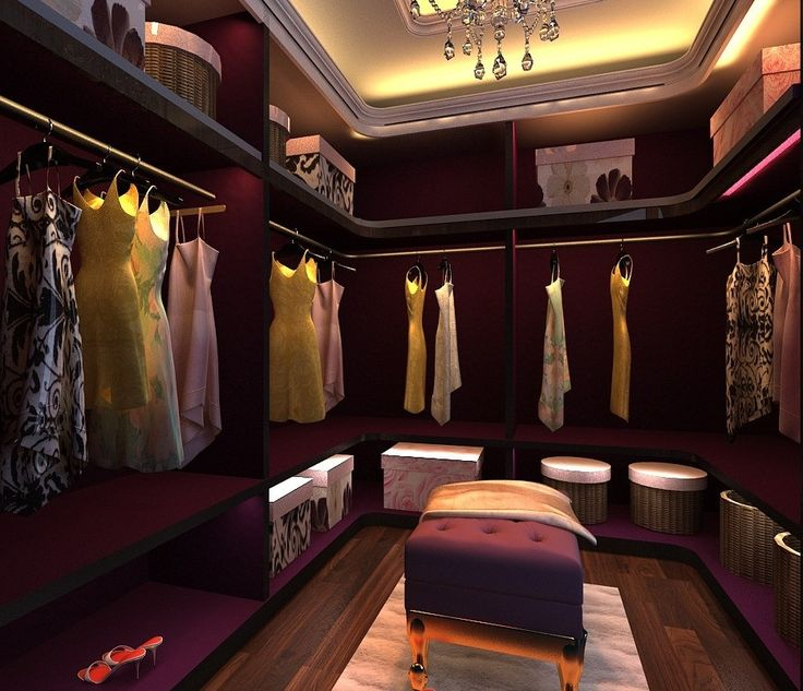 Dressing Room Design Ideas