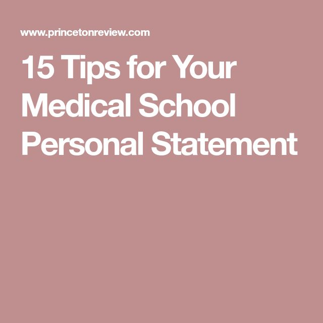 Best 25+ Personal statements ideas on Pinterest Personal - personal statement for medical school