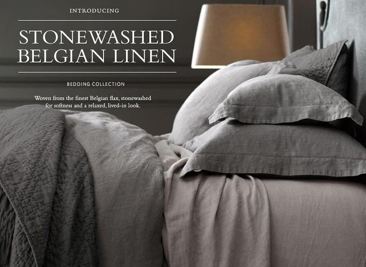 stonewashed linen bedding restoration hardware reviews italian ebay baby