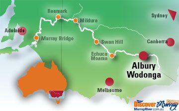 Albury Map