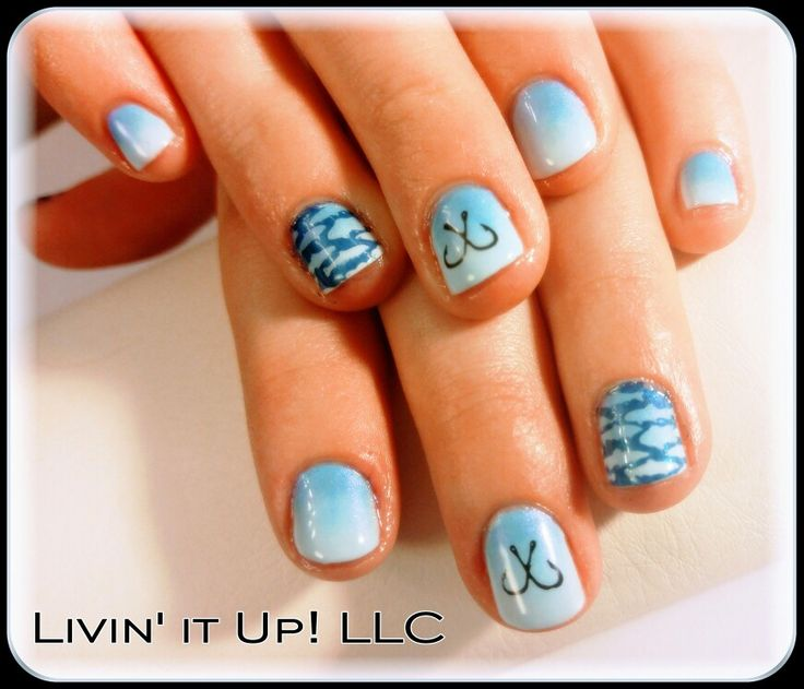 fish nails ideas