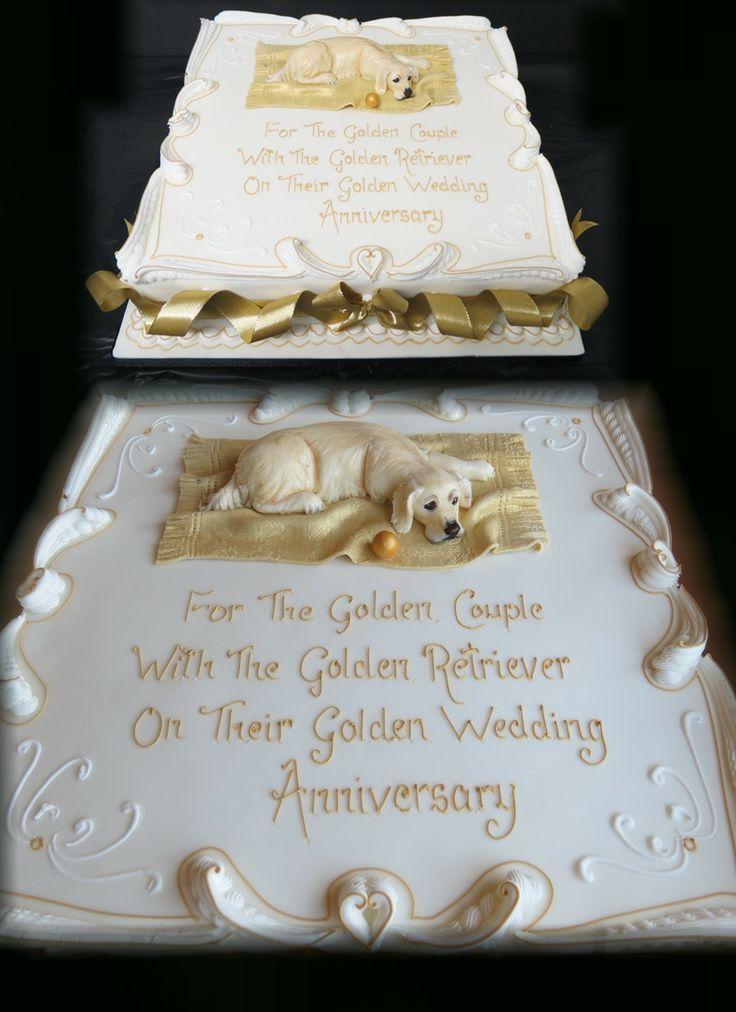 Golden Retreiver Cake
