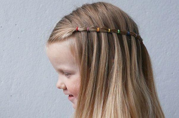5 Peinados para Niñas Fáciles y Coquetos - Con imágenes. - Megalindas