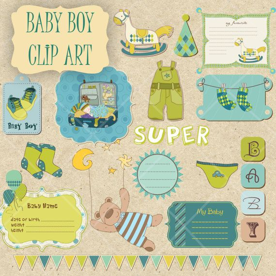 16 Png Baby Boy Clipart Stickers Printables Clipart