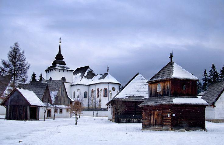 Open air museum #Pribylina  #slovakia #folk