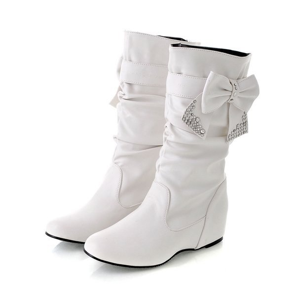 2013 New fashion flat boots for women, snow boots and women winter shoes