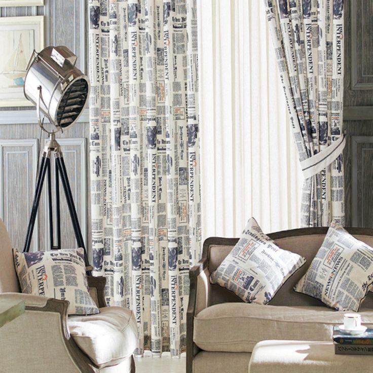 Novelty Neoclassical Blue Kids Curtains  #curtains #decor #homedecor #homeinterior #blue