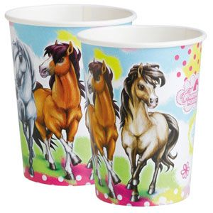 A552343 -Charming Horses Paper Cups Please note: approx. 14 day delivery time. www.facebook.com/popitinaboxbusiness
